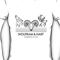 Wolfram & Hart: Attorneys at Law Women's T-Shirt