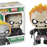 Funko POP Marvel Ghost Rider Bobble Figure