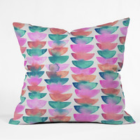 Dash and Ash Emerald City Outdoor Throw Pillow