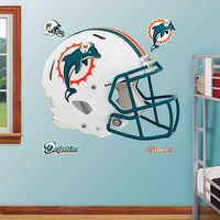 Fathead Miami Dolphins Revolution Helmet Wall Decals