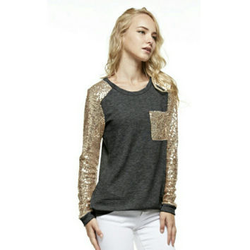 Sparkle + Shine French Terry Pocket Tunic
