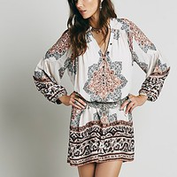 Free People Womens Moonphase Printed Mini