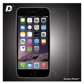 Dream Power iPhone 6, 6 Plus Premium 2.5D Tempered Glass Screen Protector with 9H Hardness