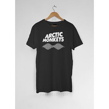 Arctic Monkeys Death Ramps AM Sound Wave Unisex T Shirt