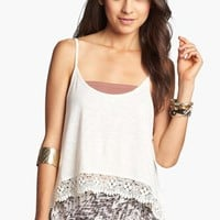 Painted Threads Crop Tank Top (Juniors) | Nordstrom