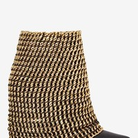 Jeffrey Campbell Holy Grail Chain Boot