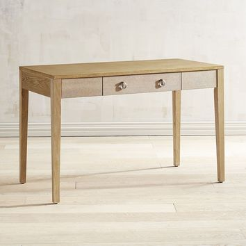 Sidney Natural Whitewash Desk