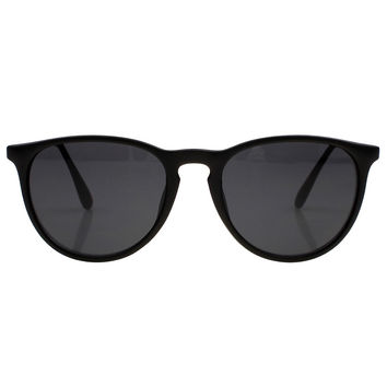Matte Black Cat Sunglasses