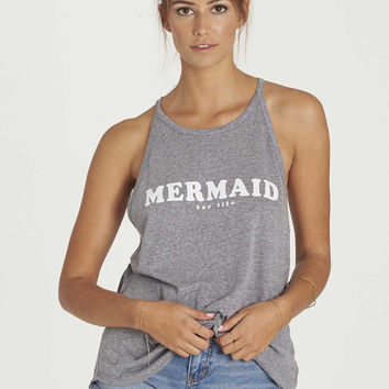 Billabong - Mermaid For Life Tank Top | Dark Athletic Grey