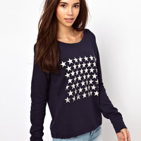 Only | Only Stars Sweat Top at ASOS