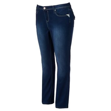 Hydraulic Lola Slim Bootcut Jeans - Juniors' Plus, Size: