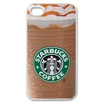 Starbucks Ice Coffee Iphone 4/4s Iphone Cases Cover (Fashion design-1)