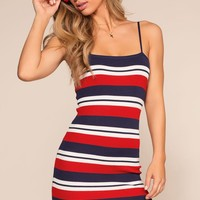 Americana Bodycon Dress