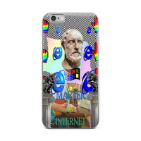 Vaporwave Master The Internet iPhone 6/6s 6 Plus/6s Plus Case
