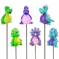 Dinosaur Garden Stakes (Set of 6) only $34.99 at Garden Fun - Garden Stakes