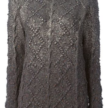 Tory Burch cable knit sweater