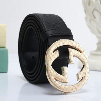 DCCKNQ2 GUCCI Woman Men Fashion Leather Belt7