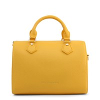 Trussardi Yellow Leather Handbag
