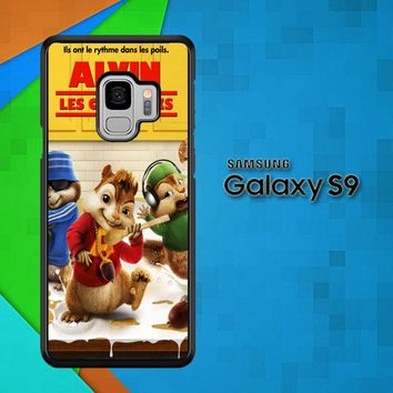 Alvin And The Chipmunks Y0710 Samsung Galaxy S9 Case