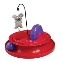 KONG Cat Playground Interactive Ball Catnip Mouse Toy