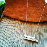 Delicate Survivor Necklace