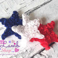 Stars Fourth of July, Patriotic US baby headband, newborn kids Headband, All ages, Newborn Photography prop, Toronto Canada
