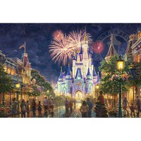 Thomas Kinkade Walt Disney World Main Street U.S.A. Jigsaw Puzzle - Puzzle Haven