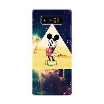 disney Mickey mouse Hipster Triangle Galaxy Samsung Galaxy Note 8 Case