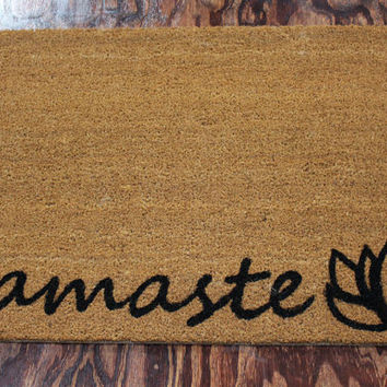 Namaste Doormat (size options)