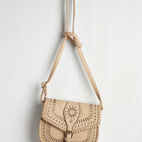 Boho Sunny Experience Bag in Latte by ModCloth