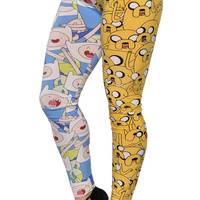 Adventure Time Jake and Finn Leggings Design 339