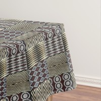 African abstract pattern tablecloth