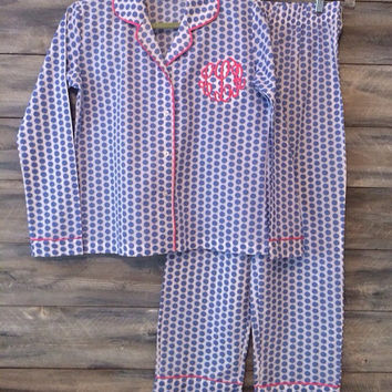 Girls Monogrammed Loungewear * free shipping *