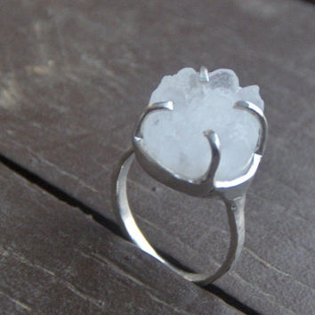 ICE QUEEN Non Traditional Engagement or promise ring by Chymiera