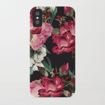 Roses iPhone Case by Printerium