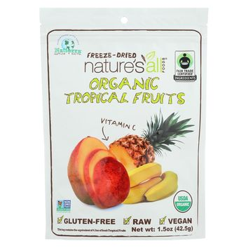 Natierra Freeze Dried Tropical Fruits - Mix - Case Of 12 - 1.5 Oz.