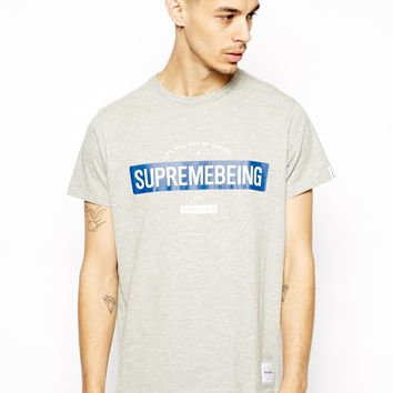 Supremebeing T-Shirt With Will Not Be Broken Logo