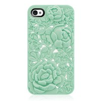 Rose Embossing Case for iPhone 4/4S