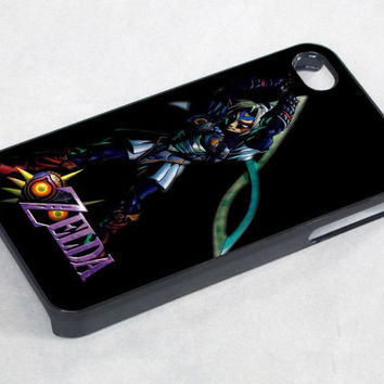 the legends of zelda majora mask oni - iPhone 4 Case ,iPhone 5 case,samsung galaxy s3 and Samsung galaxy s4 Hard Plastic Case