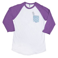 Mermaid Raglan T-Shirt