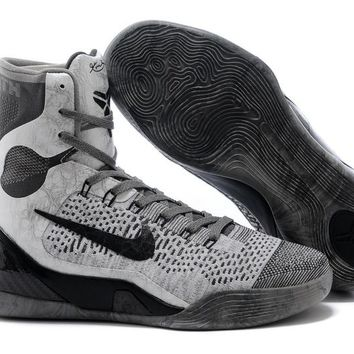 Nike Zoom Kobe Bryant 9 Gray /Black  Basketball Shoes