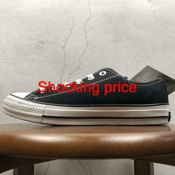 2018 Newest Unisex Converse All Star Low 100 Colors OX Black White fashion shoe