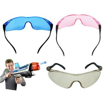 Wearable Outdoor Goggles Eyes Glasses Children For Nerf Gun Accessories