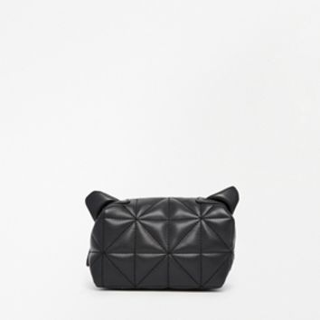 ASOS Cat Ears Makeup Bag In Quilt
