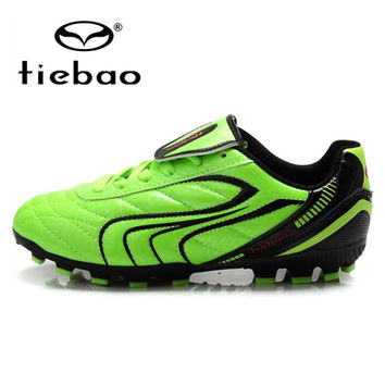 Professional Children Kids' Sneakers Training Soccer Cleats Outdoor Football Boots Boys Girls HG & AG Sole Soccer Shoes