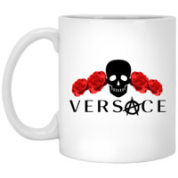ANDIMOTO Anarchy Versace 11 oz. White Mug