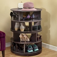 Round Swivel Shoe Rack | Country Door