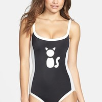 MARC BY MARC JACOBS 'Matte Cat Sportif Bound' Maillot