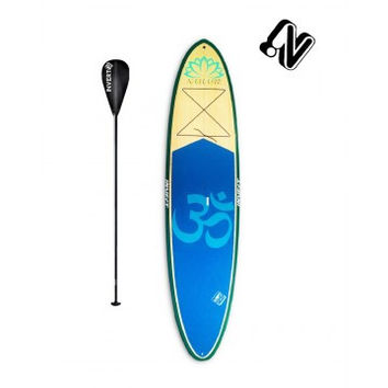 """Invert SUP Namaste Yoga 11'6"""" Stand Up Paddleboard Package with Adjustable Paddle"""