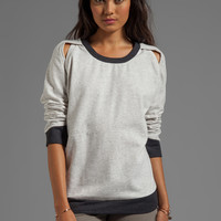 TOWNSEN Harlow Pullover in Heather Grey from REVOLVEclothing.com